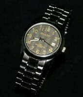 Sharp SHP2037 Analog Water Resistant Quartz Watch - As Is For Parts Not Working