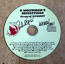 "ELFQUEST ""Wolfrider's Reflections"" CD 22 filk songs - SIGNED"