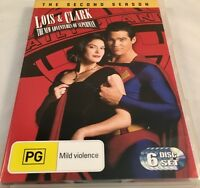 Lois and Clark: New Adventures of Superman Complete 2nd Season DVD PAL Region 4