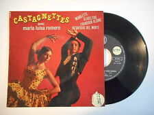 CASTAGNETTES avec MARIA LUISA ROMERO : MANOLETTE ► EP / 45 ◄ PORT GRATUIT