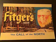 Fitger's Beer - Duluth, Minnesota collectors postcard