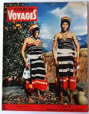 SCIENCES ET VOYAGES du 10/1955; Kabuis de Manipour/ Grotte de Cougnac/ Sakalava