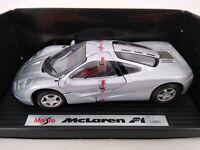 Maisto 1:24 1993 McLaren F1 Die-Cast Car Free Postage