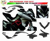 """Kit adesivi design esclusivo - Moto Ducati Multistrada 1200 2015 """"V291"""""""