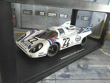 PORSCHE 917 K Racing Le Mans 1971 Martini #22 Lennep Marko Martini Winn CMR 1:18