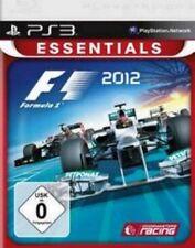 Playstation 3 Formel eins F1 2012 Formula Essentials GuterZust.