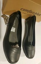 Comfort Plus by Predictions Women's Carla Snip Toe Black Slip-On Shoes 8.5W
