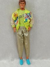 Vintage Mattel Barbie KEN ROCK STAR FLUO BRILLANT  -5-
