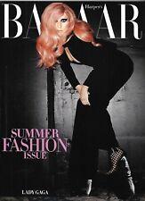 Harper's Bazaar Magazine Lady Gaga Summer Fashion Diane Von Furstenberg 2011