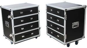 Universal Roadie Case 2-Teilig Double Drawer DD-8 Schubladencase Transportcase
