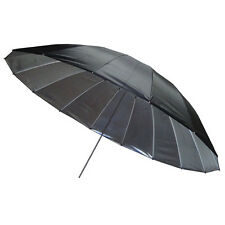 Silver Umbrella 150cm - Large Mega Parabolic Brolly - Flash Photography Studio