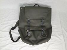 Cordura Fabric Green Large Backpack - Pockets With Zips - Free Uk Shipping