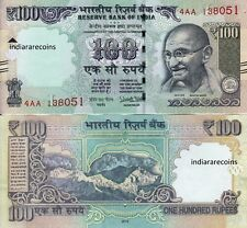 India 2016 New Sign Urjit Patel 100 Rs L Inset Paper Money Bank Note Unc New