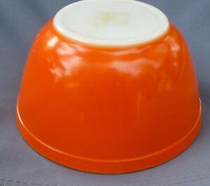Vintage Pyrex 402 Mixing Bowl ORANGE