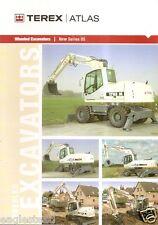 Equipment Brochure - Terex Atlas - 2205 et al Series 05 - Excavator (E1946)