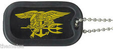USN NAVY SEAL TEAM TRIDENT MILITARY  DOG TAG