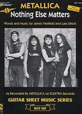 Nothing Else Matters Sheet Music Guitar Sheet NEW 002503221