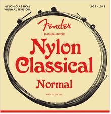 Fender Nylon Ball End Classical Guitar Strings  28-43; 130 Ball End