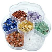 7 Chakra Stone Reiki Balancing Tumble Chip Crystal Healing Reiki Wicca Stones