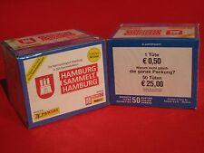 Panini Hamburg sammelt Hamburg Serie 2 -- 2 x Display 100 Tüten - 500 Sticker