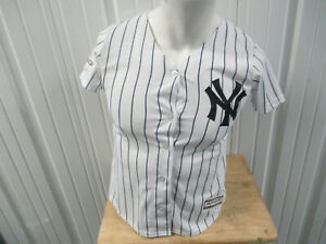 VINTAGE MAJESTIC NEW YORK YANKEES DIDI GREGORIOUS #18 SMALL YOUTH JERSEY WOMEN