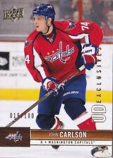 12-13 Upper Deck John Carlson /100 UD Exclusives Capitals 2012