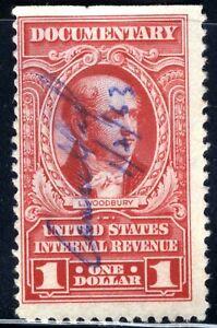 1954 $1.00 Documentary Revenue  Sc# R667
