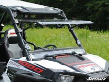 Scratch Resistant Flip Windshield Full Tilt Polaris RZR 900 1000 XP BUY THE BEST