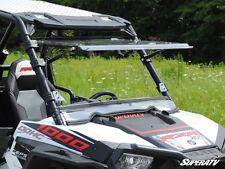 Scratch Resistant Flip Windshield Full Tilt Polaris RZR 900 1000 XP BUY THE BEST