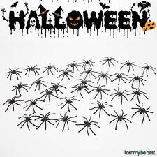 30x Halloween araignée décoration Plastique Plaisanterie
