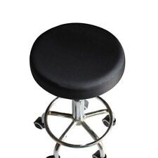 1pcs Elastic Bar Stool Covers Round Chair Seat Cover Cushions Cotton Sleeve 33cm