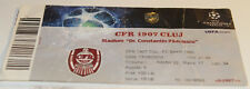 Ticket for collectors CL CFR Cluj - FC Basel 2010 Romania Switzerland