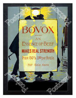 Historic Bovox- essence of beef Advertising Postcard