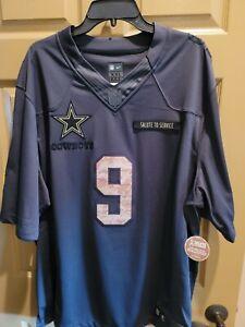 Football Jersey Salute To Serves Tony Romo Dallas Cowboys