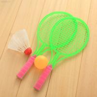 4EFA Badminton Table Tennis Set Outdoor Sports Game Boys Plastic Toy Rackets