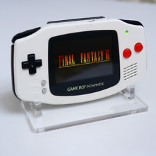 FINAL FANTASY EDITION Gameboy Advance Custom Gba Backlit Rechargeable Mod