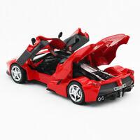 1:32 Ferrari LaFerrari Die Cast Modellauto Spielzeug Sammlung Pull Back Rot