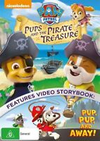 Paw Patrol - Pups And The Pirate Treasure DVD : NEW