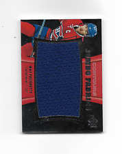 2015-16 UD Contours Jumbo Fabrics #JJMP Max Pacioretty Montreal Canadiens
