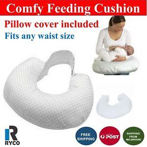 Nursing Breastfeeding Baby Support Cushion Baby Breast Feeding Pillow Body  AU