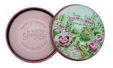 La Savonnerie De Nyons Seife in der Metalldose Garten Rosen  Seife  100 Gramm