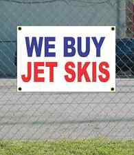 2x3 WE BUY JET SKIS Red White & Blue Banner Sign NEW Discount Size & Price