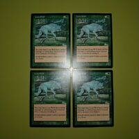 Lone Wolf x4 - Urza's Legacy - Magic the Gathering MTG 4x Playset