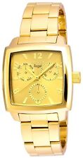 Invicta Women's 'Angel' Quartz Stainless Steel Casual Watch, Color:Gold-Toned...