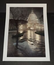 Rod Chase  --  LIBERTY'S  LIGHT  -- The White House - American Print