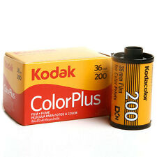 5 x New KODAK ColorPlus 200 Color Plus 35mm 36Exp Colors Negative Film
