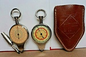 Rare~1930s Hoffritz Germany Opisometer Map Measure Nautical Compass Instrument