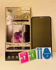For iPhone 13/12/11/XR Pro/Max TPUC Privacy Anti-Spy Full Screen Protector A++