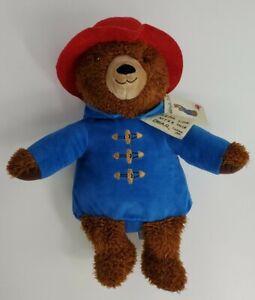 "Paddington Bear Kohls Cares Plush 14"" Teddy Blue Red Hat 2016 With Tags"