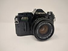 Canon AE-1 Program Camera Black Body FD 50mm f1.8 Lens Excellent Condition B32
